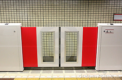 Platform Screen Door