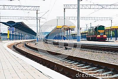 Platform of station