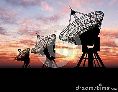 Platos basados en los satélites