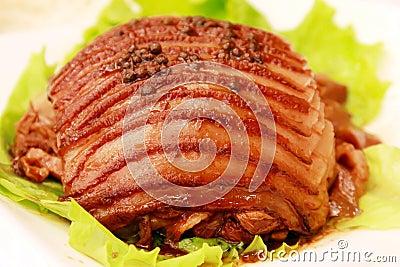 Platos de la carne de la pimienta