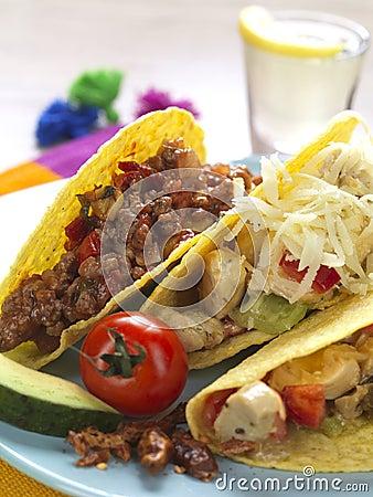 Free Platter Of Tacos Stock Photos - 17994253