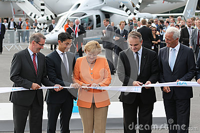Platzeck, Rösler, Angela Merk, Pawlak, Ramsauer Editorial Photo