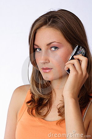 Plaudern am Telefon