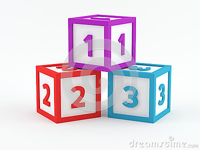 Play blocks - 123