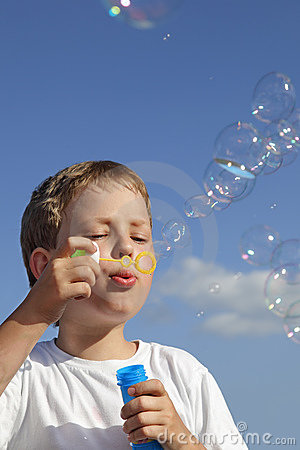 Play in  bubbles