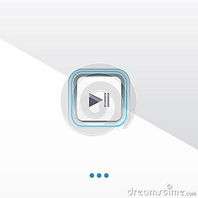 Play button design