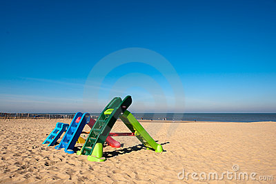 Play garden at the beach