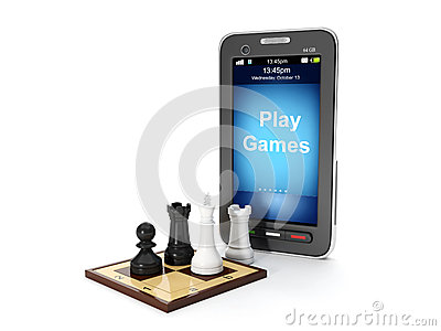Play mobile games