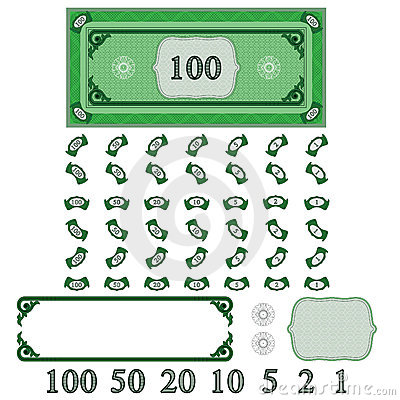 Play money (make your money set)