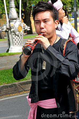 Play Thai Traditional Music Editorial Photography