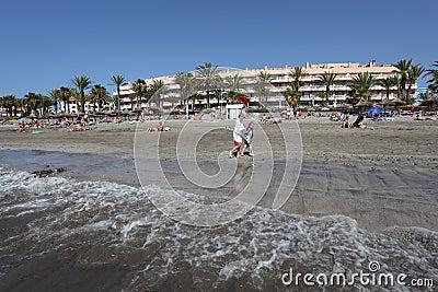 Playa de las Americas, Tenerife Editorial Image