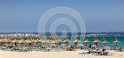 Playa de Palma Redaktionelles Foto
