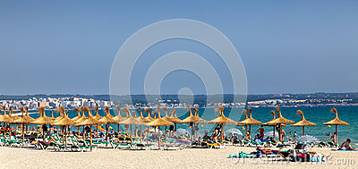 Playa de Palma Εκδοτική Εικόνες