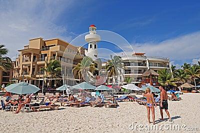 Playa del Carmen Editorial Photo