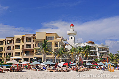 Playa del Carmen Editorial Stock Photo