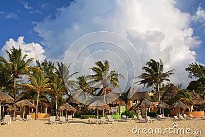 Playa del Carmen beach resort, Mexico