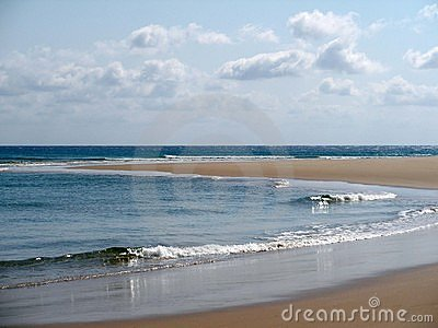 Playa en Mozambique