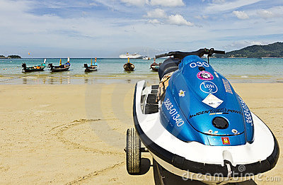 Playa Phuket de Patong Imagen de archivo editorial