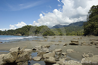 Playa Ventanas. Costa Rica.