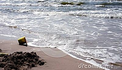 Playa y el compartimiento
