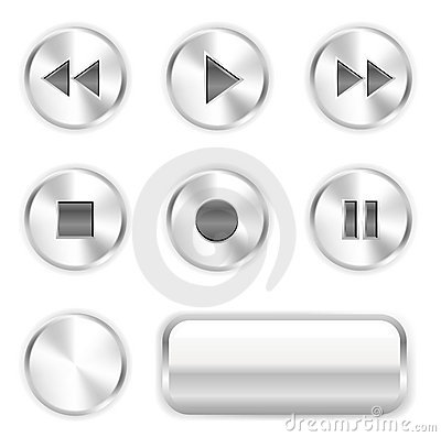 Free Player Buttons Stock Photos - 10083203