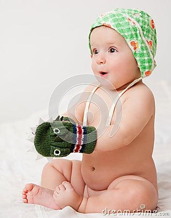 Playful baby