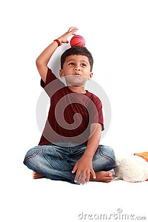 Free Playful Indian Kid Royalty Free Stock Photos - 20046218