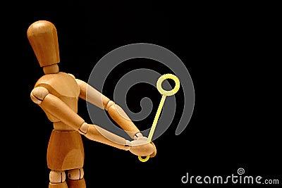 Playful mannequin