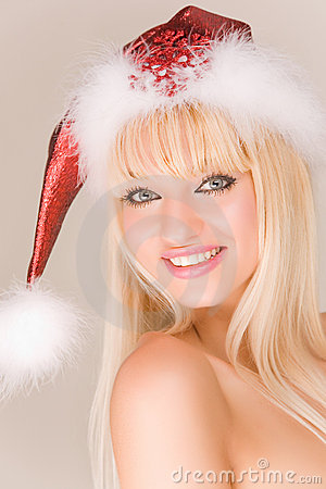 Free Playful Mrs. Santa Claus Royalty Free Stock Photo - 7046475