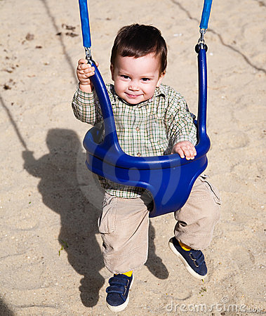 Playgound swing