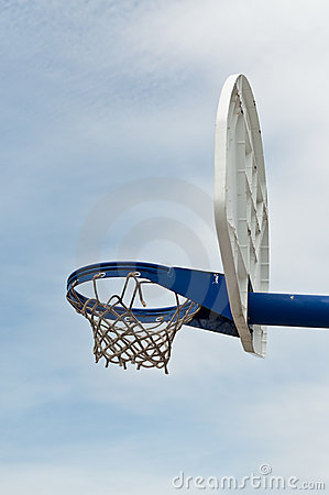 Playground Basketball Hoop and Backboard
