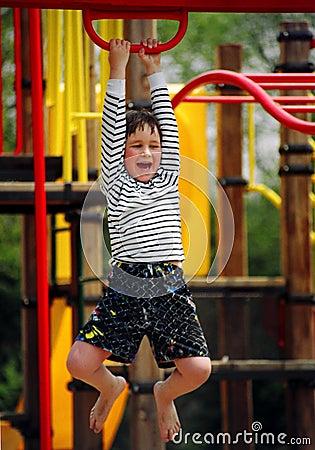 Playground boy