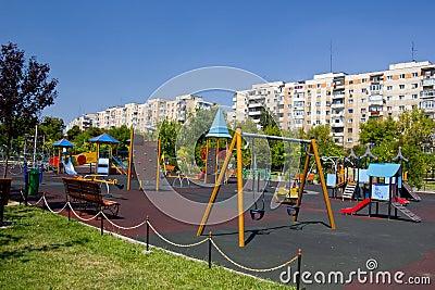 Playground in Bucharest