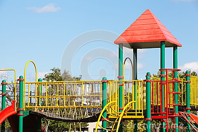 Playground without children