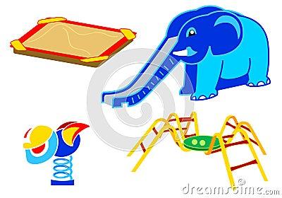 Playground equipment | Set 2