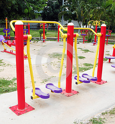 Playground for exercise