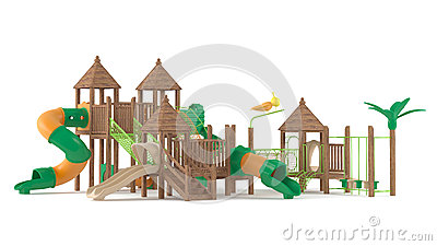 Playground isolated