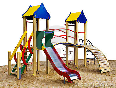 Playground Model Royalty Free Stock Photography - Image ...