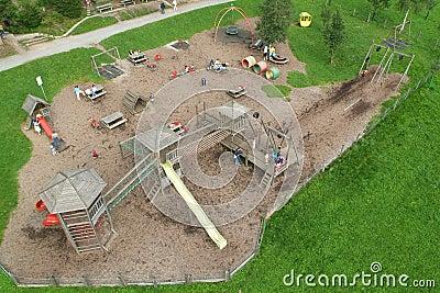 Playground at mount Pilatus