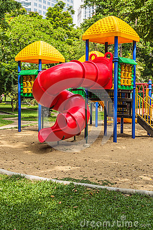 Playground in Park for Children