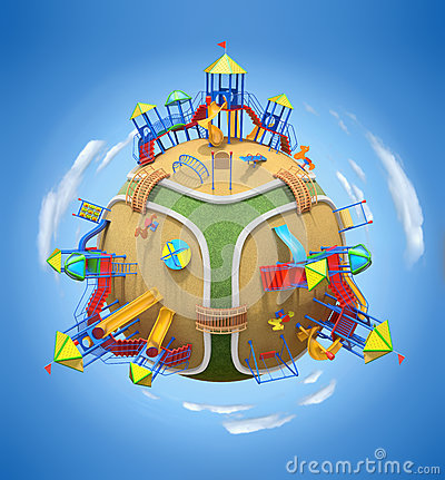 Playground planet