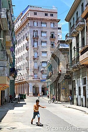 Streetlife Havana, Cuba Editorial Image