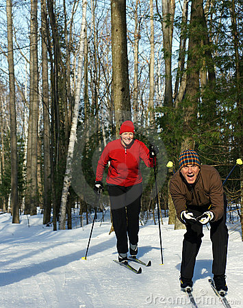 Playing Around on Skinny Skis