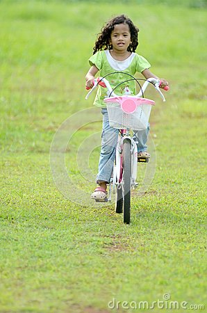 Playing Bicycle