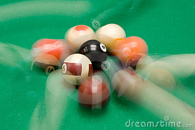 Playing Billiard