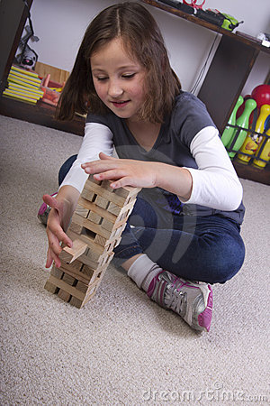 Playing with building blocks