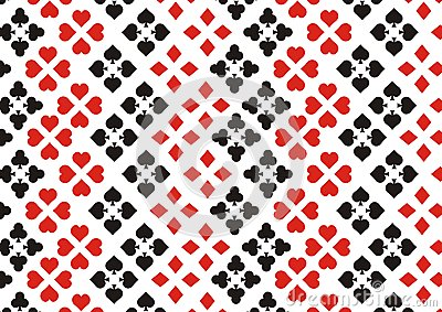 Playing card element background
