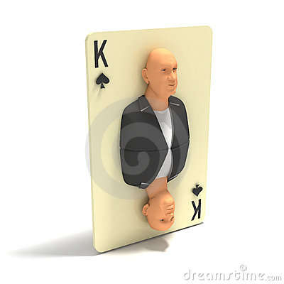 Playing Card: King of Spades