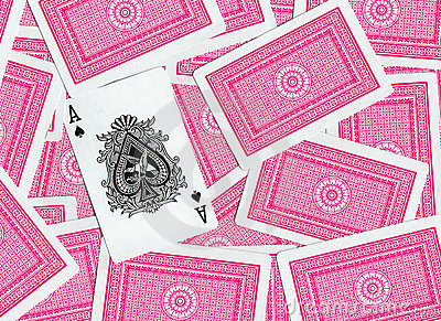 Playing cards, Ace of Spades