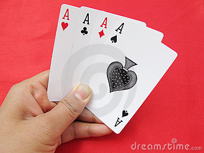 Playing Cards-Aces
